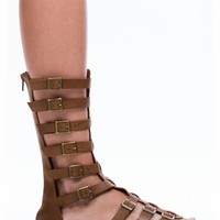 What The Buckle Gladiator Sandals - GoJane.com