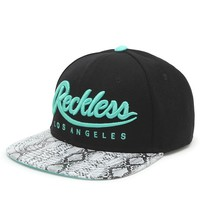 Young & Reckless Big R Script Snapback Hat - Mens Backpack - Black/Mint - One