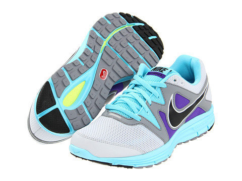 Nike Lunarfly+ 3 Pure Platinum/Tide Pool Blue/Pure Purple/Black - Zappos.com Free Shipping BOTH Ways