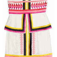 Sass & bide | Pick 'N' Mix embroidered strapless dress | NET-A-PORTER.COM