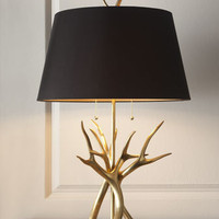 John-Richard Collection Contemporary Horn Lamp - Horchow