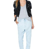 Maurie and Eve Word Denim Jean