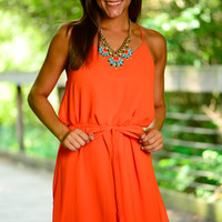 A Lot Of Sass Dress, Orange