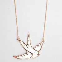 FULL TILT Epoxy Gird Cutout Necklace 195610160 | jewelry | Tillys.com