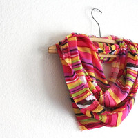 Pink Summer Scarf - Infinity Scarf - Free Shipping- Chiffon Spring Scarves