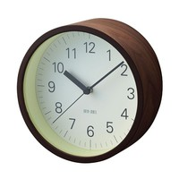 Lumino Wall Clock in Dark Brown - Pop! Gift Boutique
