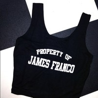 SWEET LORD O'MIGHTY! PROPERTY OF JAMES FRANCO BRALET