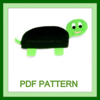 Sam the Sea Turtle PDF Pattern Quilting No by NewEnglandQuilter