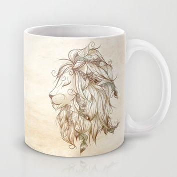 Poetic Lion Mug by LouJah | Society6