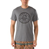 Vans 2014 US Open Lock Up Tee (Heather Grey)