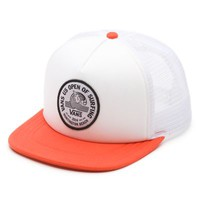 Vans 2014 US Open Beach Girl Trucker (White/Black)