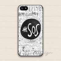 5SOS iPhone 5 5s Case,iPhone 4 4s Case,iPhone 5C Case,Samsung Galaxy S3 S4 S5 Case,5 sos Hard Plastic Rubber Cover Skin Case