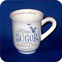 Hallmark Disney Collection DYG9635 Spoonfull Of Sugar Mug