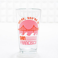 San Francisco Pint Glass - Urban Outfitters