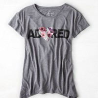 's Adored Graphic T-shirt (Grey Mist)