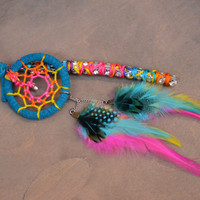Star Bright Gypsy Dreamcatcher Rain Stick Purse by turquoisecrush
