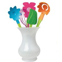 Bloom Flower Utensil Set - Hostess with the Mostest - Gift Ideas - Whimsical &amp; Unique Gift Ideas for the Coolest Gift Givers