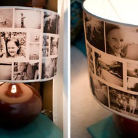 DIY: Photo Lampshades » Curbly | DIY Design Community « Keywords: lampshade, photos, Photography, DIY