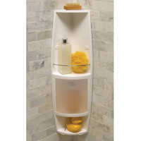 Axis Shower 2-shelf Corner Caddy