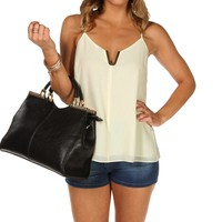 Pleated Back Cami