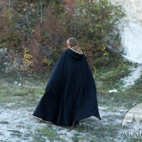 "Medieval Fantasy Lined Cloak ""Knight of the West"""