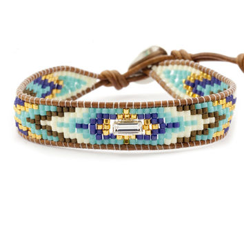 chan-luu-turquoise-bead-mix-single-wrap-bracelet