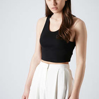 RIBBED CROPPED VEST