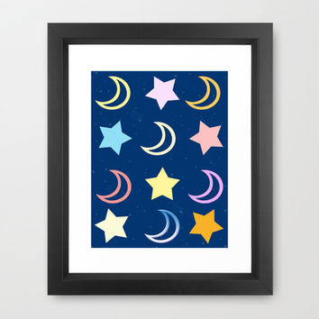 Sleep Tight Framed Art Print by DuckyB (Brandi)