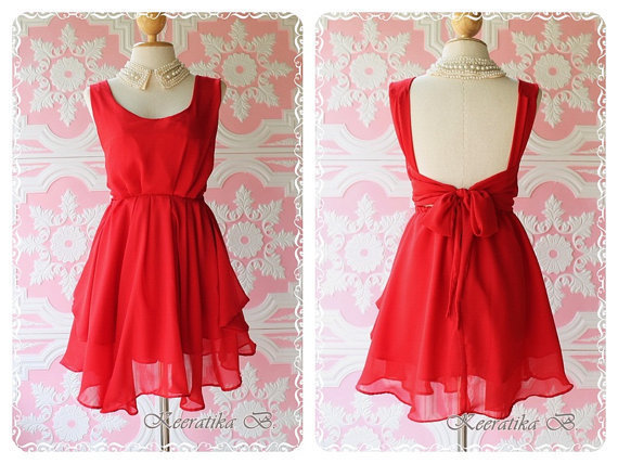 A Party  Prom Party Cocktail Bridesmaid by LovelyMelodyClothing