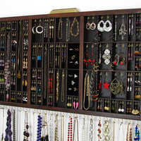Jewelry Organizer Earring Storage and Ring Storage