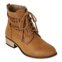 Brooke Braided Shortie Boots -