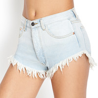 Classic Wash Denim Shorts