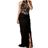 Alexea-sequin Chiffon Long Prom Dress