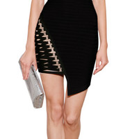 THE LOOK | Designer look with 'Bandage Dress with Embellished Cutouts' from Hervé Léger | Luxury fashion online | STYLEBOP.com