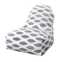 Printed Kick-It Chair - Alli - Storm Gray