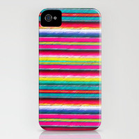 Serape II iPhone Case by Jacqueline Maldonado | Society6