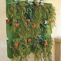 Vertical Living Wall Planter - Grandin Road