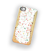 Toaster Pastry IPhone Hard Case Fits Iphone 4 And Iphone 4S - White Trim | Luulla