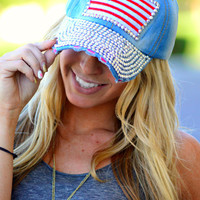 BLING IN AMERICA HAT