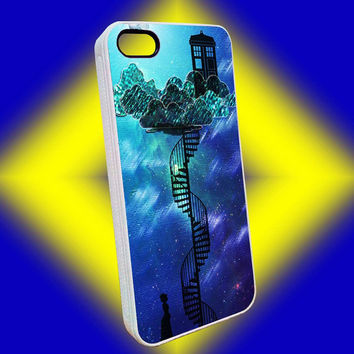 Crying Lighting Tardis Case For iPhone 4/4s, iPhone 5/5S/5C, Samsung Galaxy S2/S3/S4/S5, iPod 4/5