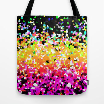 Mosaic Sparkley Texture G225 Tote Bag by MedusArt | Society6