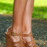 Just A Taste Wedge-Cognac