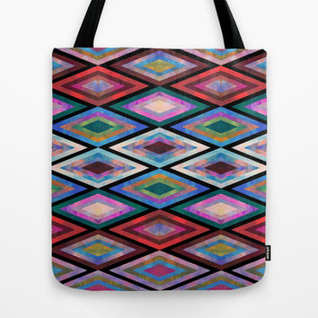 Montauk Diamond Tote Bag by Schatzi Brown