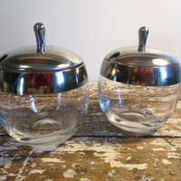 Mad Men Condiment Dishes Dorthey Thorpe by VintageShoppingSpree