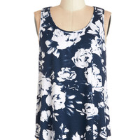 ModCloth Mid-length Sleeveless Splended All in One Place Tank
