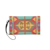 Neo Native Tribal Native American Aztec Wristlet from Zazzle.com