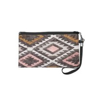 Chic Aztec Tribal Inspired Fashion Pattern Look Wristlet from Zazzle.com