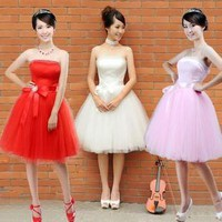 - Bridesmaid dress - bridal wedding dress - | fashion4us