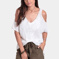 Brisas Lace Accent Blouse