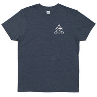HUF - VANTAGE TEE // DENIM HEATHER